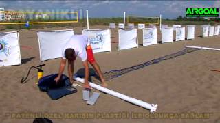 Inflatable Volleyball Net / Portatif Voleybol Seti