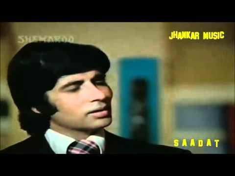 Aadmi Jo Kehta Hai Jhankar HD Majboor1974 Kishore Kumar Jhankar...