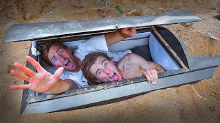 We Actually Buried Ourselves Alive In A Coffin!