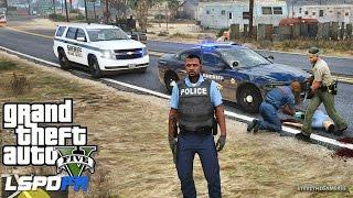 LSPDFR #433 - SHERIFF TAHOE PATROL (GTA 5 REAL LIFE POLICE MOD)