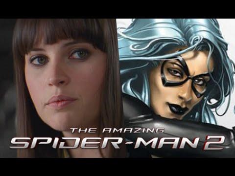 Black Cat Spider Man Wallpaper
