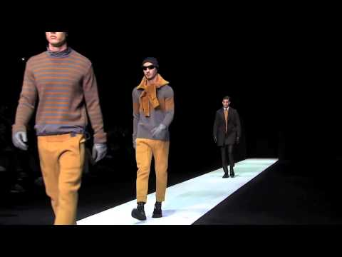 Emporio Armani Menswear Fall/Winter 2013-14