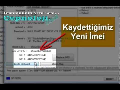 MTK Droid Root & Tools İle İmei Kaydetme