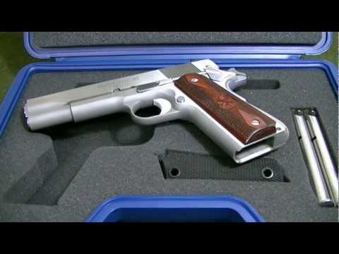 Springfield Armory 1911 Stainless Mil-Spec Review