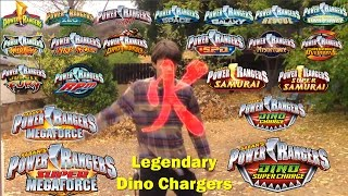 Power Rangers Dino Super Charge Legendary Dino Chargers