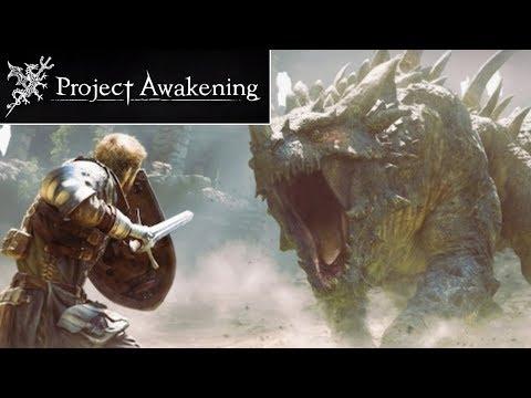 PROJECT AWAKENING Gameplay Trailer Reaction - New Monster Hunter type Action RPG
