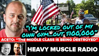 OXFORD GYM OWNER DAVE BLONDIN SHARES STORY!