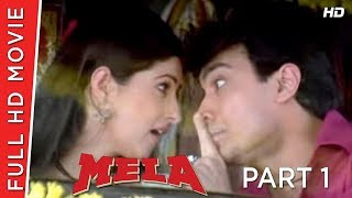 Mela Part 01 | Aamir Khan | Twinkle Khanna | B4U HD Movies