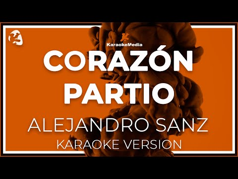 Alejandro Sanz - Corazon Partio (Karaoke)