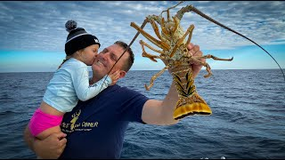 Lobstering with my Daughter {Catch Clean Cook} Fluffy Lobster Omelette