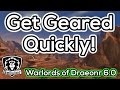 Guide to Gearing up Fast In Warlords of Draenor Patch 6.0.3
