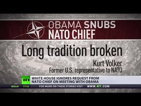 Missed message? NATO claims Obama didn't return call to set up key meeting