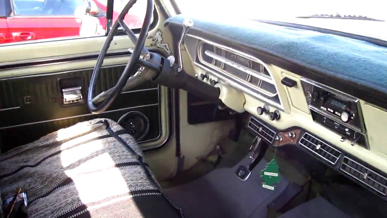1970 Ford F250 390 motor - YouTube