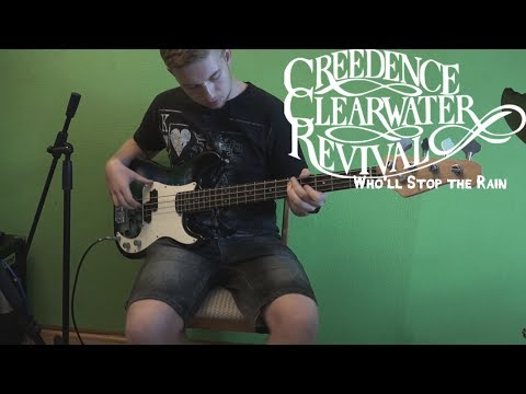 CCR - Who'll Stop the Rain (Bass Cover) [Full HD]