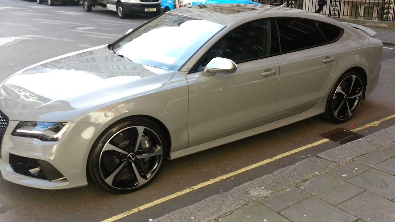 audi rs 7 nardo grey youtube