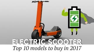 Top 10 Electric Scooters to Buy Today (Prices and Specifications Reviewed)