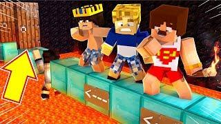 30 SANİYEDE BU ODADAN KAÇIŞ İMKANSIZ - Minecraft