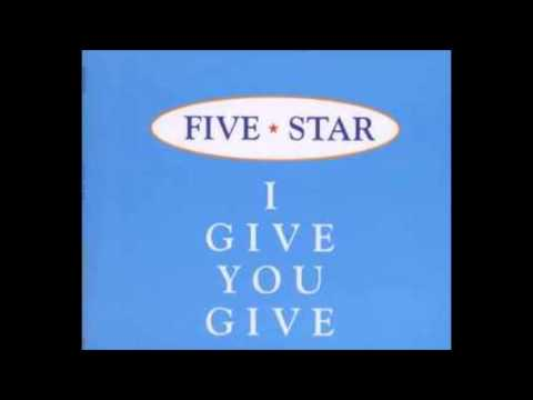 Five Star - I Give You Give (Swing Out Mix)