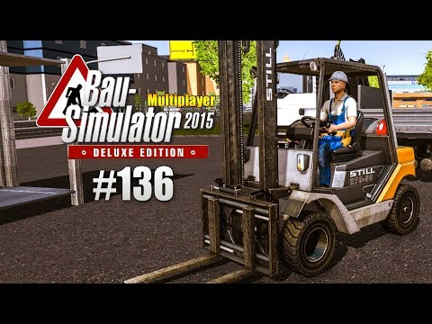 Bau-Simulator 2015 Multiplayer #136 -Fliegende LKW! CONSTRUCTION SIMULATOR Deluxe