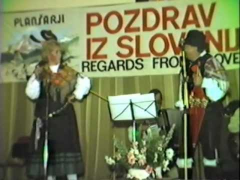 Veseli Plansarji (in Melbourne 1983) - Slovenian folk songs