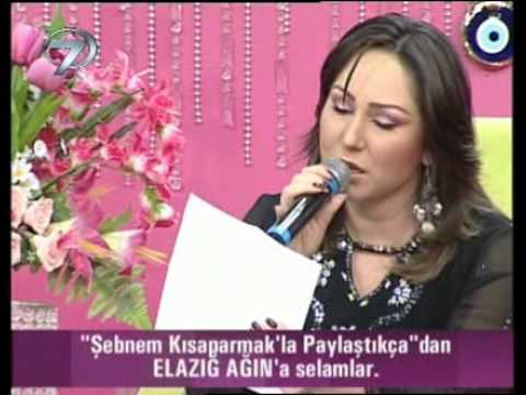 �ebnem K�saparmak Sol YaN�m Ac�yor �iiri canl� performans video klip izle...
