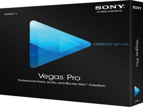 Sony Vegas - профессиональная программа для многодорожечной записи, редакти