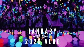 Seattle Selfie Museum & Jollibee for the first time! January 2020 Vlog | with.kim