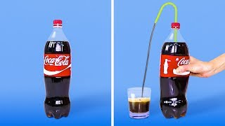18 COOL CRAFTS FROM A PLASTIC BOTTLE