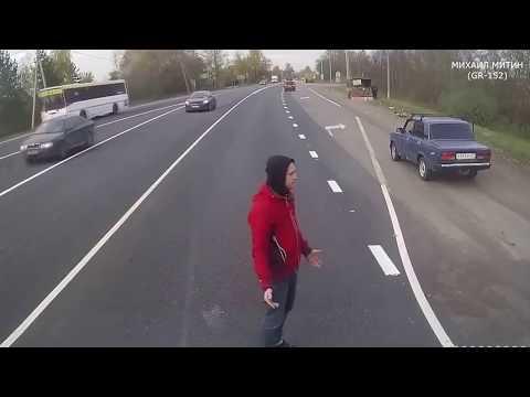 Подборка пешеходы идущие в рай ЖЕСТЬ Аварии с участием пешеходов
