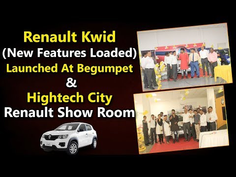 Renault Kwid ( New Features Loaded ) Launched at Begumpet & Hi-Tech City Renault Show Room | YOYO TV
