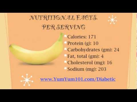 Diabetic Recipes | Blastin' Chocolate Banana Yogurt Shake