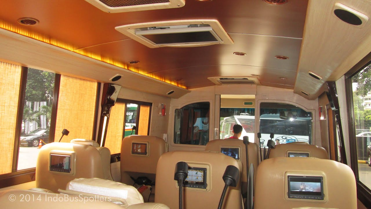 interior mewah bus big bird premium youtube