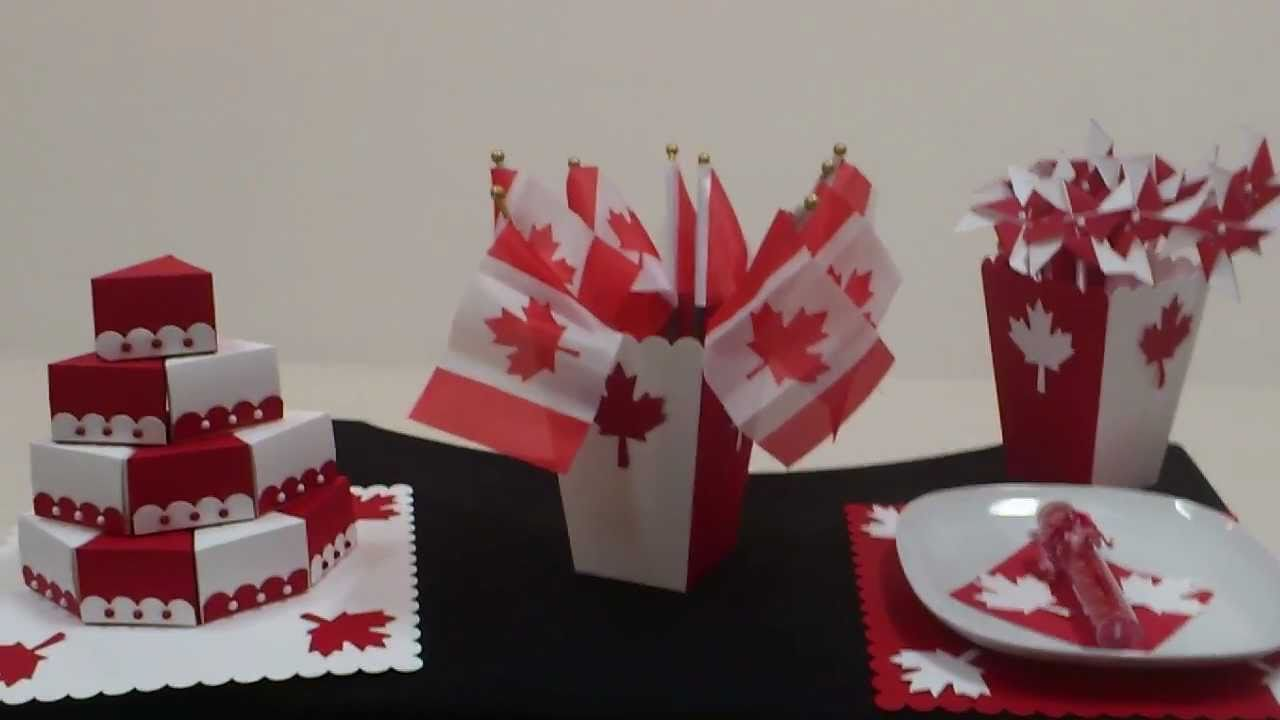 Simple Party Decorations For Canada Day YouTube