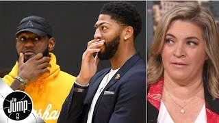 LeBron needs Anthony Davis to take the reins of the Lakers – Ramona Shelburne | The Jump