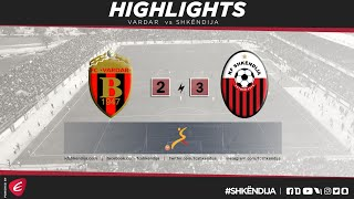 HIGHLIGHTS | Vardar vs Shkndija 2-3 | FMFL 17/18 Round 28