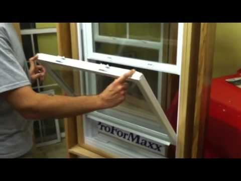How to clean your vinyl replacement windows with tilt in fe