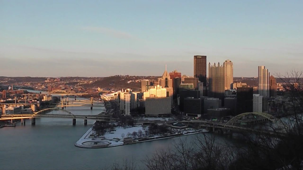mt washington pittsburgh pa time lapse youtube. Black Bedroom Furniture Sets. Home Design Ideas