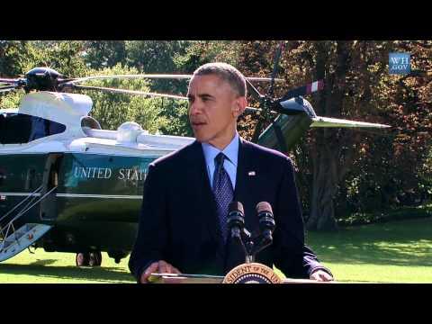 Obama Airstrikes Against ISIL & al Qaeda in Syria - Video