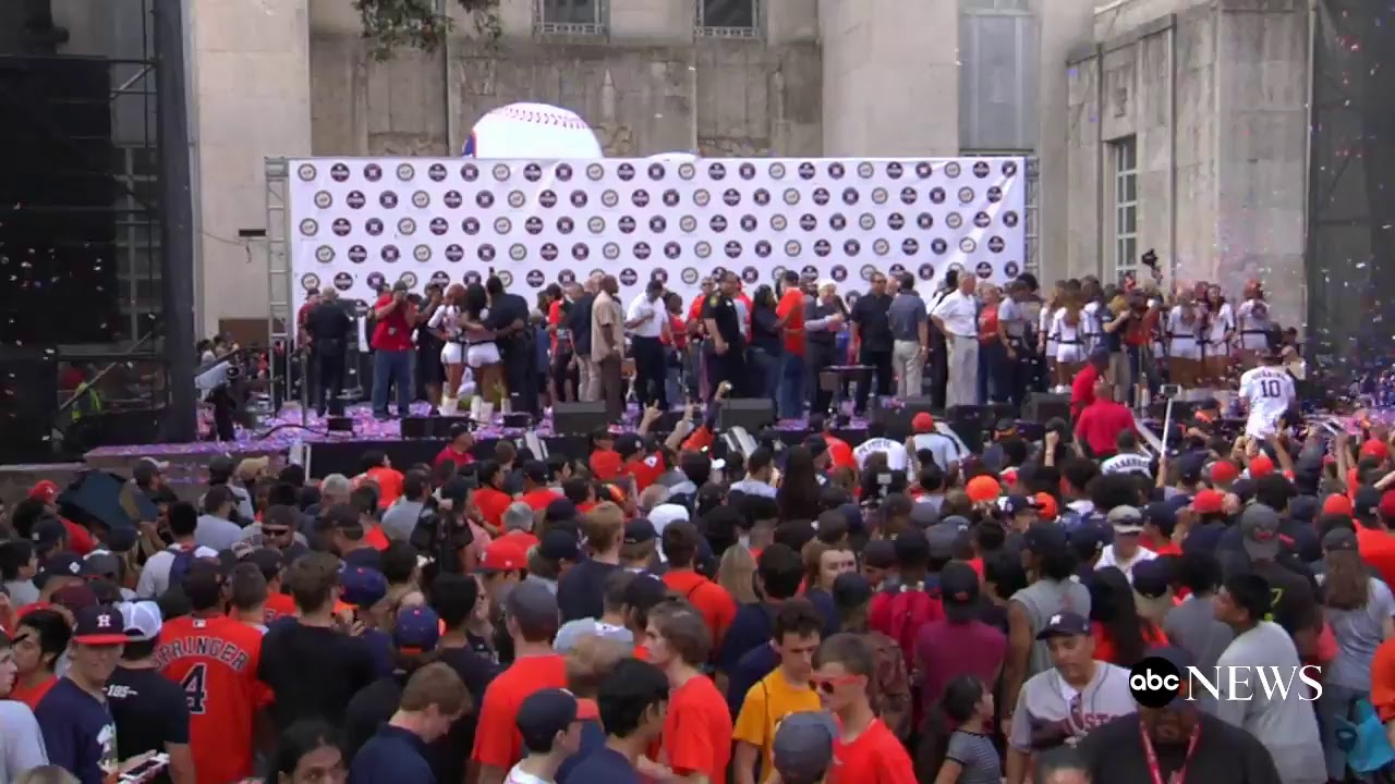 Houston Astros celebrate World Series win with parade