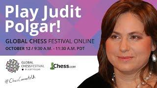 Global Chess Festival: Judit Polgar Plays 20 Opponents Simultaneously