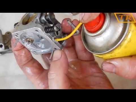 Ремонт карбюратора китайской бензопилы своими руками видео