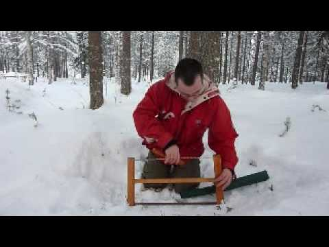 My Homemade Foldable Bucksaw