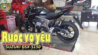 Đi mua xe Suzuki GSX S150 - Chiến binh đường phố 150cc