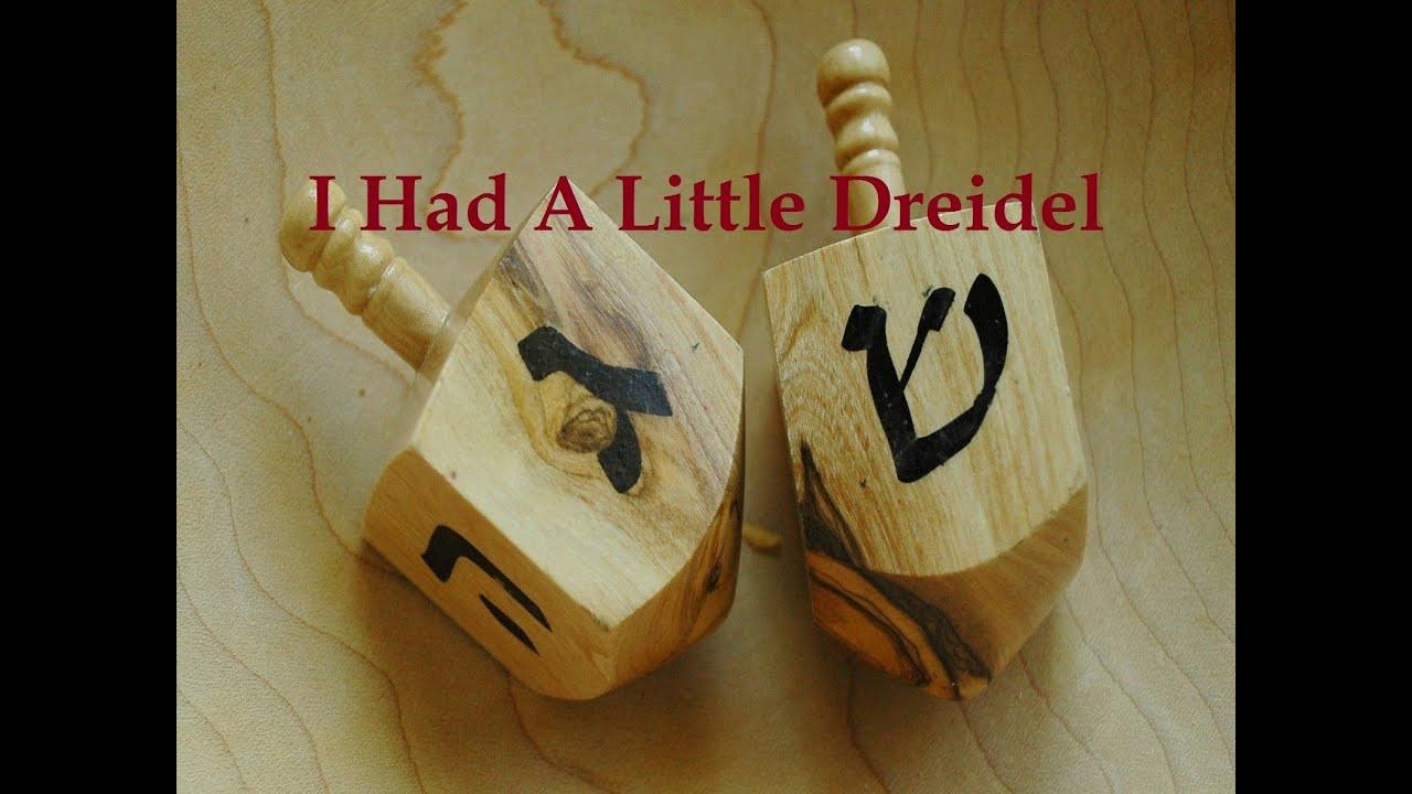 I Had A Little Dreidel with Lyrics