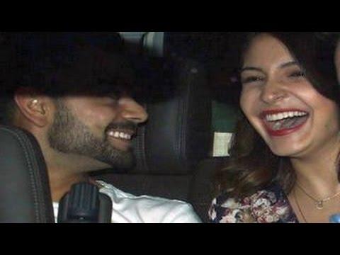 Anushka Sharma's First Public Appearence With Boyfriend Virat Kohli video