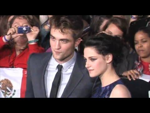 Breaking Dawn starring Robert Pattinson & Kristen Stewart at the premiere
