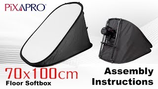 How To Assemble The Pixapro 70x100cm Floor Softbox