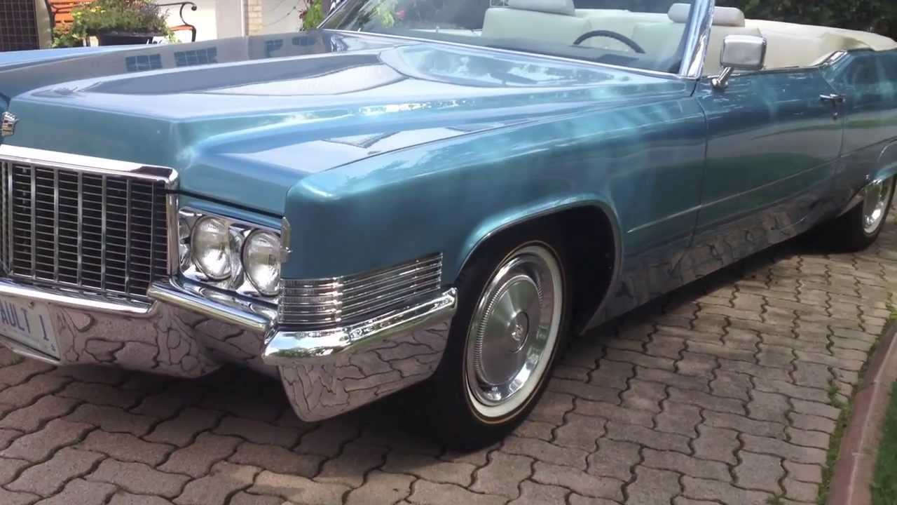 1970 Cadillac Coupe Deville Convertible Youtube