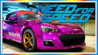 WILDCAT vs. Moo #2 - Need For Speed Fun! - Car Customization, Jumps, Police Chases!