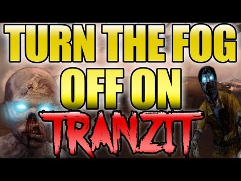 BO2 How to Turn the Fog Off on Tranzit Zombies & More Easter Eggs Black Ops 2